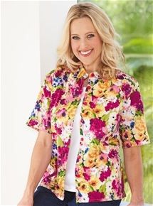 Bright Flowers Blouse