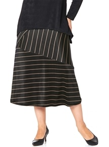 Travel Stripe Skirt