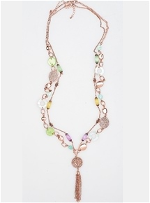 Ava Tassle Necklace