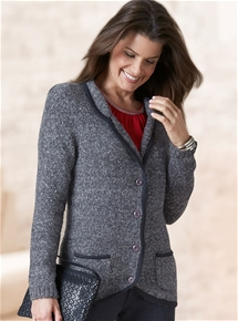 Thermal Knitted Blazer