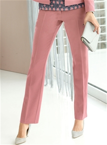 Blush Stretch Trousers