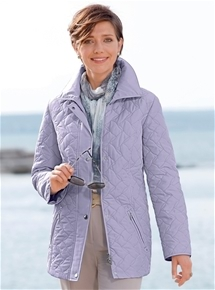 Viennese Seam Quilted Jacket