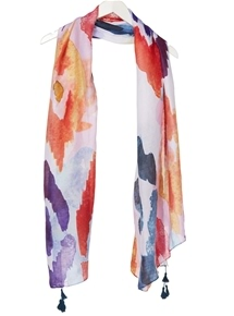 Watercolours Scarf