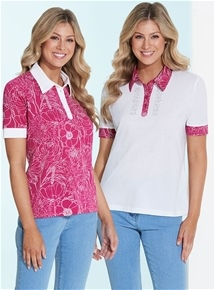 2 Pack Polos